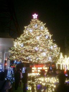東京タワーのクリスマスツリー