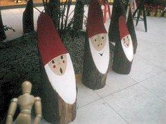 トントゥとは、フィンランドでは、サンタの助手として知られている妖精だそうだ