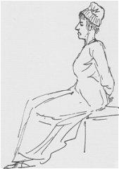 ダヴィッド「マリー・アントワネットの最後の肖像」
