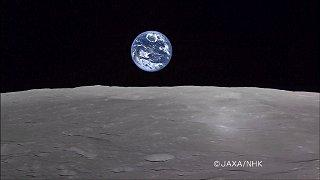 地球の出/JAXA