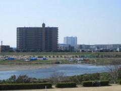 対岸は川崎市