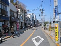 多摩川駅まではなぜか突然歩行者天国