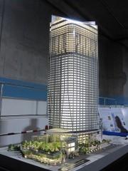 虎ノ門ヒルズの模型