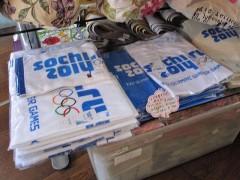 なぜかソチオリンピックグッズ