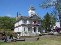 伊豆市と姉妹都市のカナダ・ネルソン市旧市庁舎をイメージ