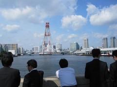 勝鬨橋からの景色