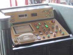駅に設置された操作盤