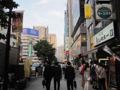 浜松町駅方面