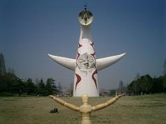 8年前に見に行った太陽の塔