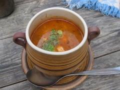 名物のスープ
