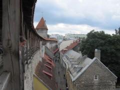 城壁の上を歩ける場所は少ない