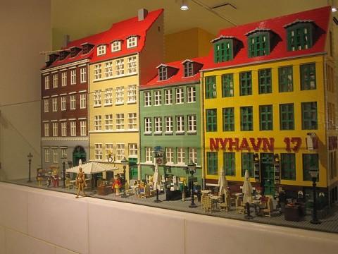 レゴブロックで作ったニューハウン
