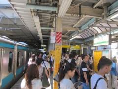 混雑する大井町駅