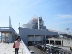 会場の晴海客船ターミナル