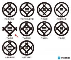 三井グループ各社の商標(1980年当時)