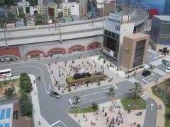 新橋駅付近?