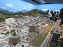 日本最大級ともいわれる鉄道模型