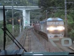 """いわゆる""""セノハチ越え""""をする貨物列車"""