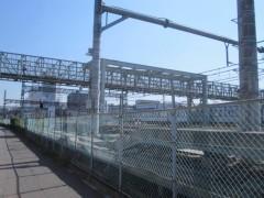 太宰治ゆかりの跨線橋