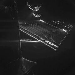 彗星とロゼッタのツーショット