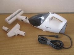 小型掃除機…ハンディークリーナーです