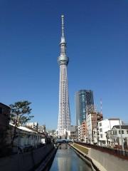 東京スカイツリーを見に来たのだけど…