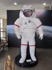 宇宙服を着ての写真撮影もできる…しなかったけど
