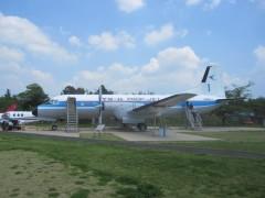 国産旅客機YS-11の1号機