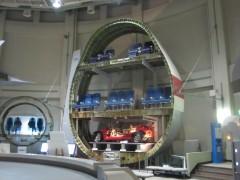 ジャンボ機の巨大さに圧倒