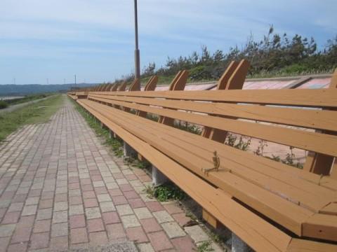 世界で一番長いベンチ