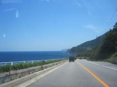 日本海もよく見える