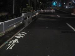 写真の写りが悪いですが…自転車の行く先は…?