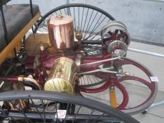世界初のガソリン車のエンジン