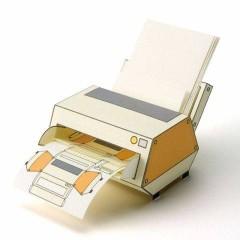 紙製プリンター
