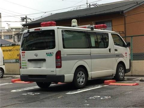 東京電力の緊急車両