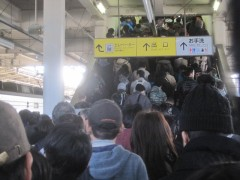 南栗橋駅はすごい混雑