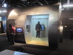 宇宙ステーション「きぼう」の実寸大模型
