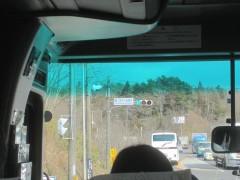 福島第2原子力発電所付近を通過