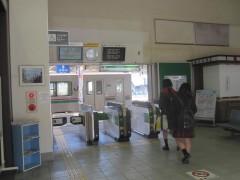 原ノ町駅の改札口へ