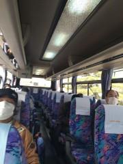 乗客は十数人程度