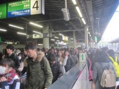 仙台に着くころには、かなりの乗客が…