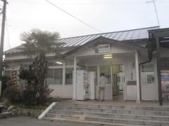 石巻線前谷地駅