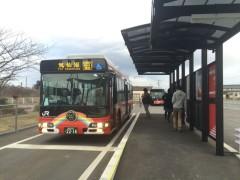 ここから気仙沼まではバスの旅