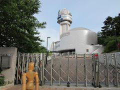 明石市立天文科学館…当然ながら開館前
