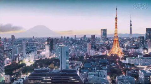 最初に東京タワー