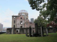 久しぶりに原爆ドームを見学