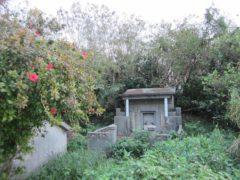 朝の散歩中に見掛けた沖縄のお墓