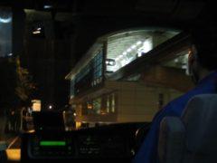 モノレールの那覇空港駅が見えたら、もうすぐ