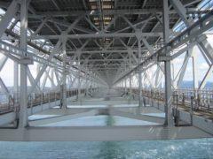 四国側から淡路島方向を見る