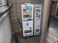 ホテルの自販機はやっぱり大塚